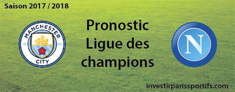 Pari 3 – Manchester City / Naples - Ligue des champions