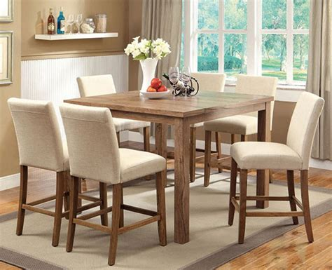 48 inch kitchen table set 48 quot square counter height sorrel i dining table