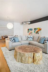Baumstamm Als Couchtisch : baumstamm tisch super originelle designs ~ Sanjose-hotels-ca.com Haus und Dekorationen