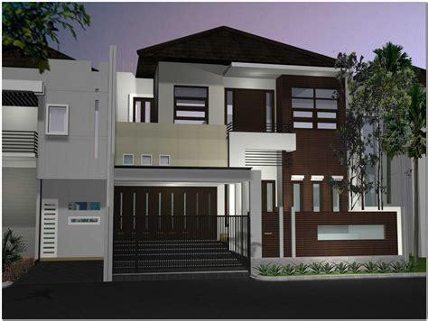 desain rumah  lantai minimalis mewah
