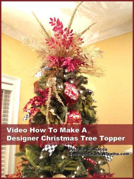 christmas trees trees and tree toppers on pinterest
