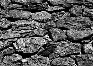 Steine Für Die Wand : fototapete tapete natur steine steinwand foto 360 cm x 254 cm schwarz ~ Markanthonyermac.com Haus und Dekorationen
