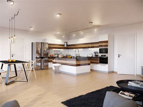 apartment apartment design with kitchen design ideas and