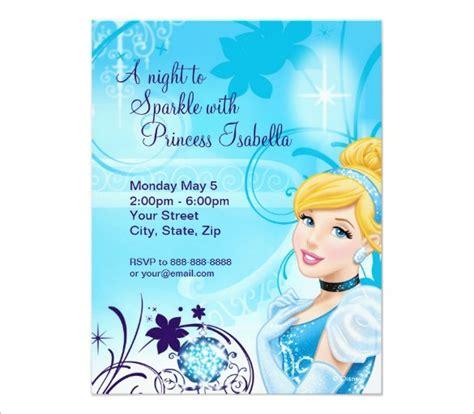 12+ Amazing Cinderella Invitation Templates & Designs