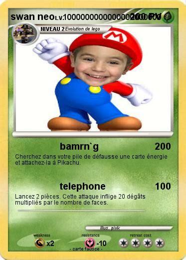 pokemon swan neo bamrng ma carte pokemon