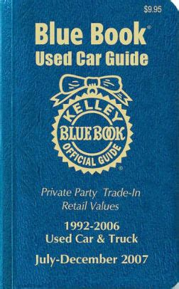 kelley blue book used cars value trade 1992 ford aerostar user handbook kelley blue book used car guide 1992 2006 used car and truck by kelley blue book paperback