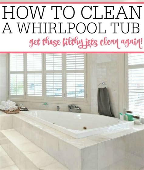How To Clean Jetted Tubs by How To Clean A Whirlpool Tub Frugally