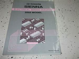 2002 Toyota Sienna Electrical Wiring Diagram Service Shop