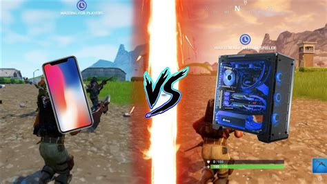 fortnite mobile ipadiphone  pc lowepic graphics
