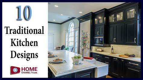 traditional kitchen designs    home channel tv
