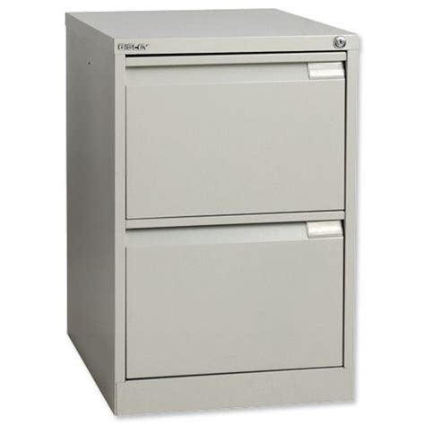 Bisley Filing Cabinet 2 Drawer by Bisley Filing Cabinet 2 Drawer Lock Grey Flush Code