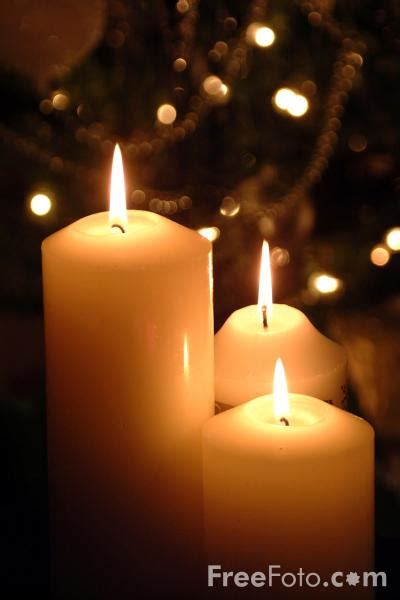 christmas candles pictures   image