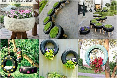Stilvolle Und Kreative Ideen Mit Alten Reifen Für Euren