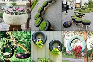 Kreative Ideen Garten : stilvolle und kreative ideen mit alten reifen f r euren garten ~ Bigdaddyawards.com Haus und Dekorationen
