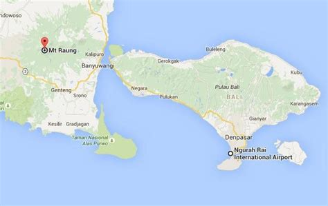 raung volcano satellite pictures daily bali   nutshell