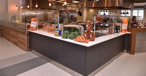 colleges  dining hall offers
