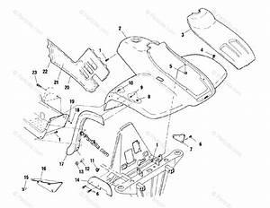 Polaris Atv 2001 Oem Parts Diagram For Front Cab