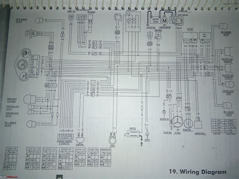 Wiring Diagrams Indian Two Wheelers Page Team Bhp