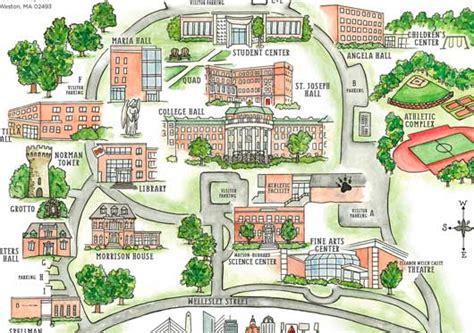 campus map regis college