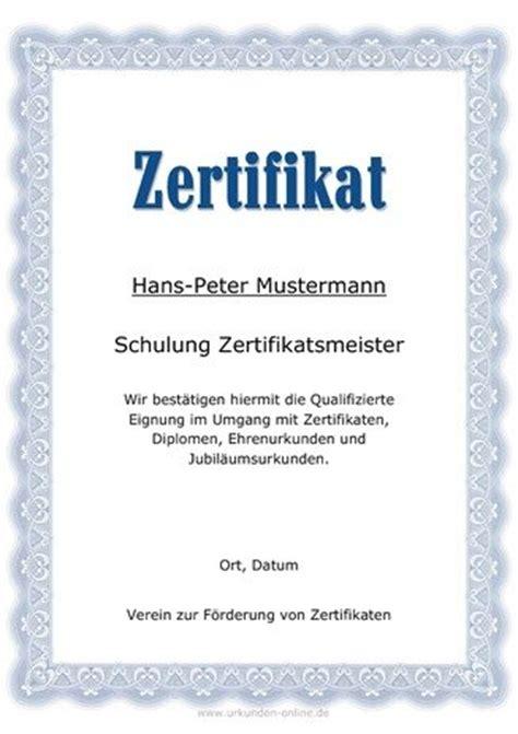 teilnahme zertifikat vorlagen selber ausdrucken bei