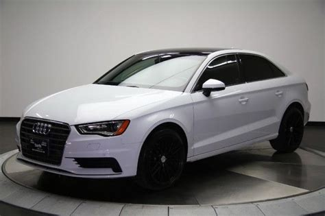 audi a3 rims 2015 2015 audi a3 tdi navigation pano roof custom wheels wow
