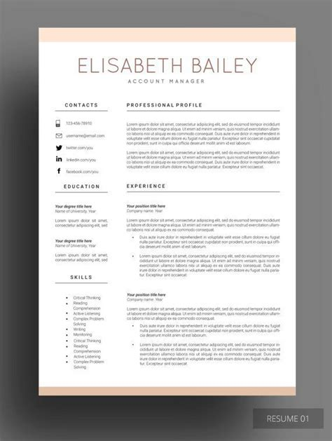What Is A Subordinate Reference On A Resume by 17 Best Ideas About Best Cv Template On Cv