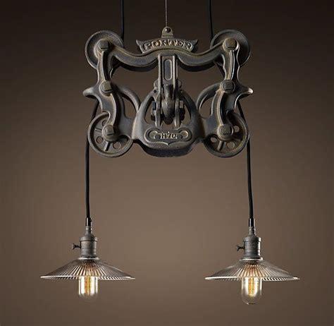 bar lighting restoration hardware for the home