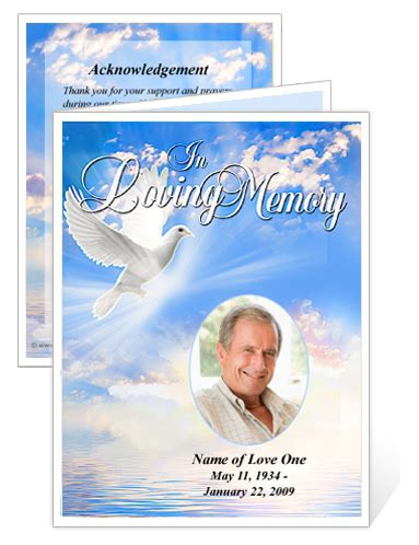 superstore creates templates  funeral memorial cards