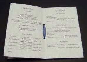 wedding program booklet as promised wedding programs for catholic ceremony o