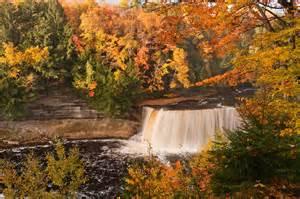 Tahquamenon Falls Upper Peninsula Michigan