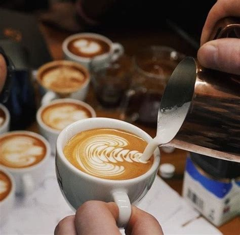 A cappuccino is very similar, but it has a greater percentage of foamed milk to steamed milk. Does Latte Art Make Your Coffee Better - Or Worse? - Perfect Daily Grind