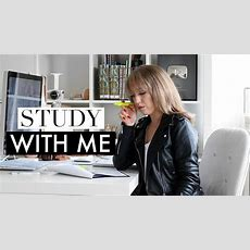 Study With Me #3 ♡ Real Time Motivational Study Session (no Music) Youtube