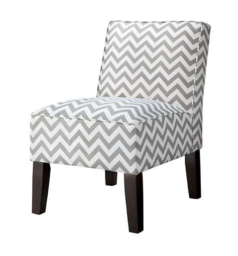 Target Burke Armless Slipper Chair by Burke Armless Slipper Chair Gray Chevron
