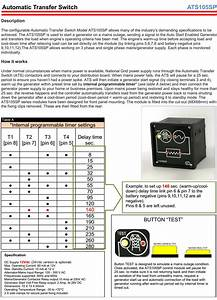 Automatic Transfer Switch  Ats  Controller  Build Your Own Ats Panel Easily