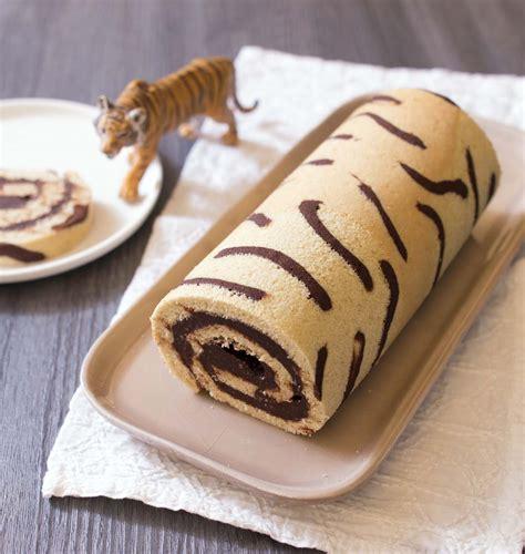 recette cuisine gateau gâteau roulé imprimé tigre les meilleures recettes de