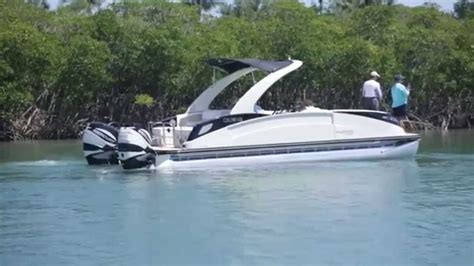 Best Offshore Pontoon Boats by Florida Sportsman Best Boat 20 To 27 Pontoon Boats