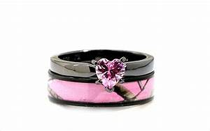 Black and pink wedding rings wwwpixsharkcom images for Pink black wedding ring