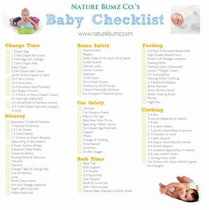 Nature Bumz Co.'s New Baby Checklist... Everything you ...