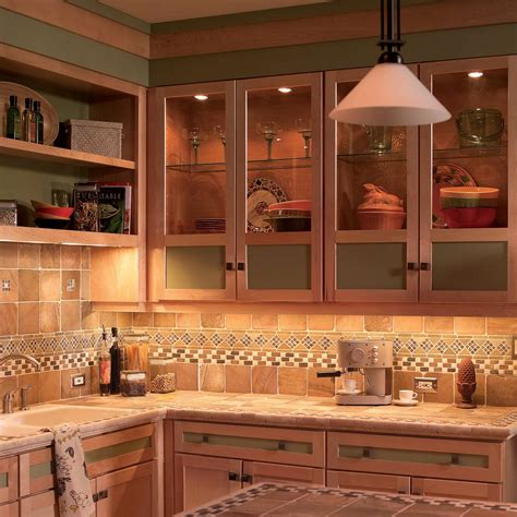 install  cabinet lighting   kitchen