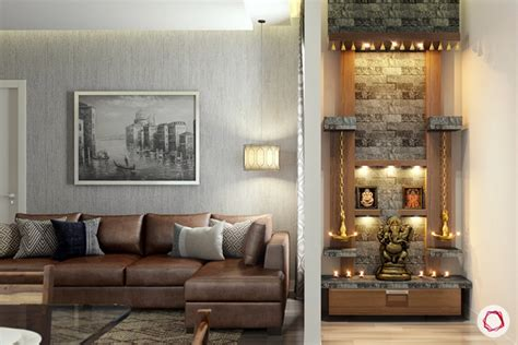 Interior Design For Living Room Usa by 11 Pooja Room Designs For Small Apartments Projects To