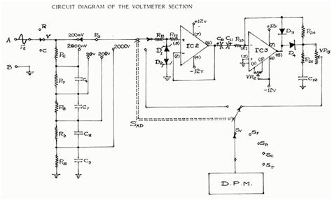 Schematics Delabs Circuit Diagrams Voltmeter