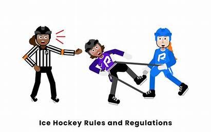 Hockey Ice Rules Regulations Conduct Unsportsmanlike Rookieroad