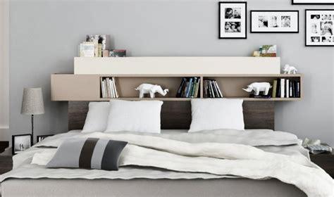 chambre tete de lit chambre adulte avec rangement tete de lit
