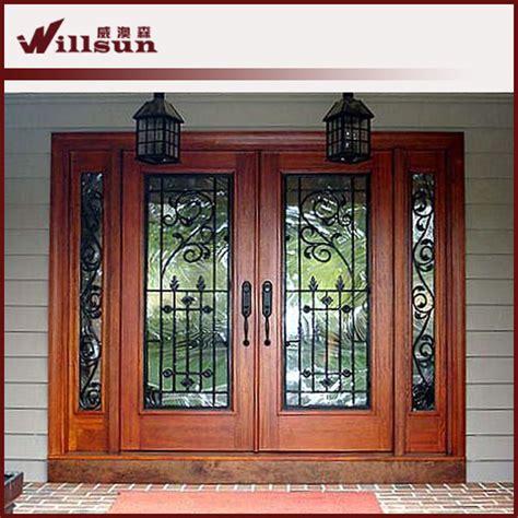 ext 233 rieur en bois portes en fer forg 233 portes id de produit 500003690569 alibaba
