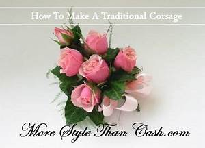 How to make a traditional corsage for Mother's Day ...