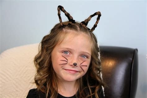 easy halloween hairstyles 15 easy halloween hairstyles for kids kidsomania