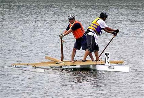 Man Powered Hydrofoil Boat by A B B Amateur Boat Building Howto Japanese Sculling Oar