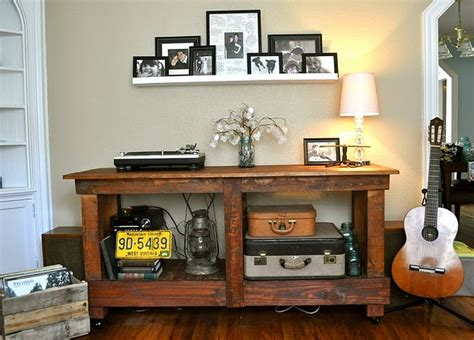 Pottery Barn Rustic Vintage Table