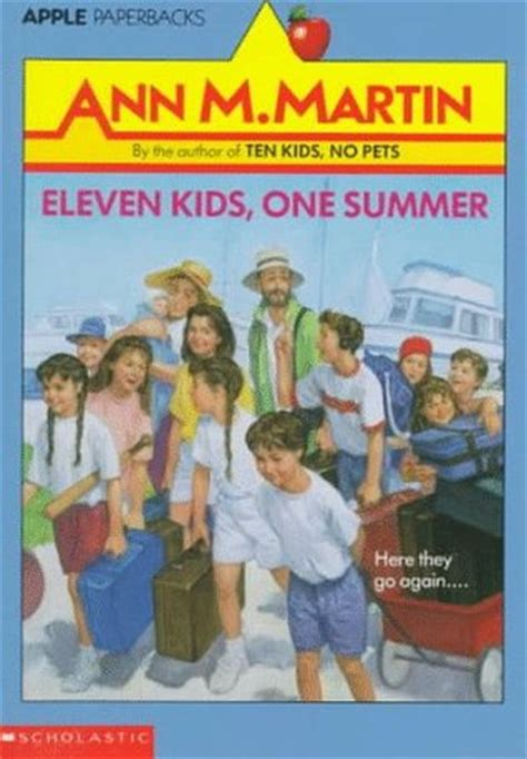 eleven kids  summer  ann  martin reviews