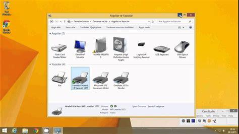 بعد اكتمال التنزيل، حدد موقع الملف في مستعرض الويب أو في مجلد downloads (التنزيلات) في. HP LaserJet 1022 Yazıcının Ağ da paylaşıma açılması - YouTube